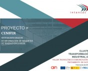 Portada la transformación digital Taller TIC AIN- Proyecto Cenifer