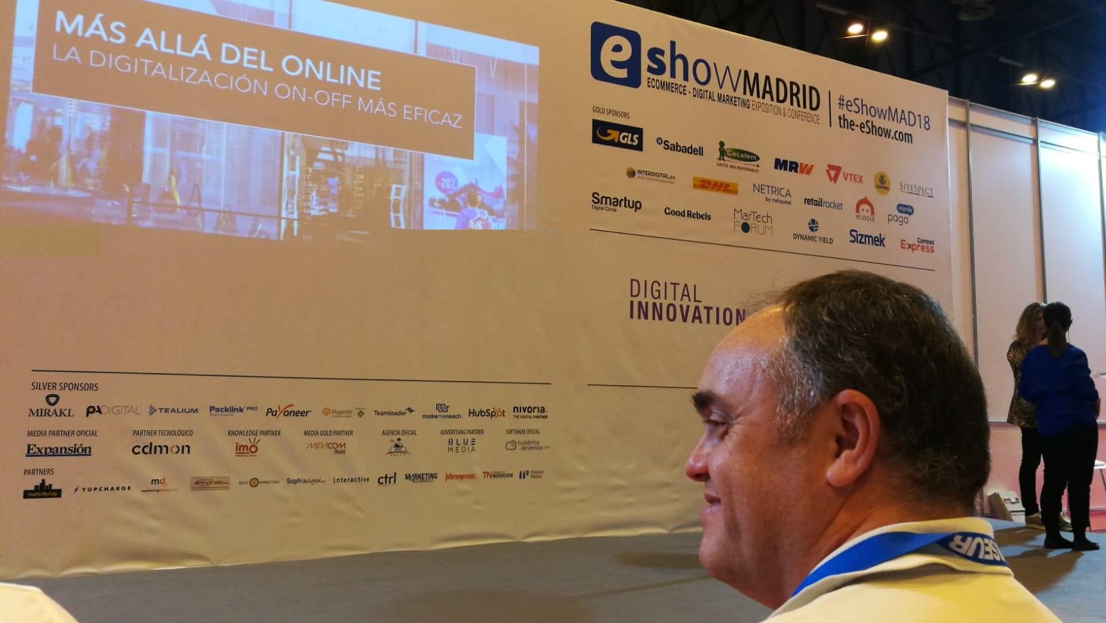 Intensas Networks Eshow Madrid 2018 Segunda Jornada- inteligencia artificial Jose Santos
