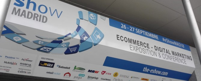 Intensas Networks Eshow Madrid 2018 a inteligencia artificial tambien en Ecommerce