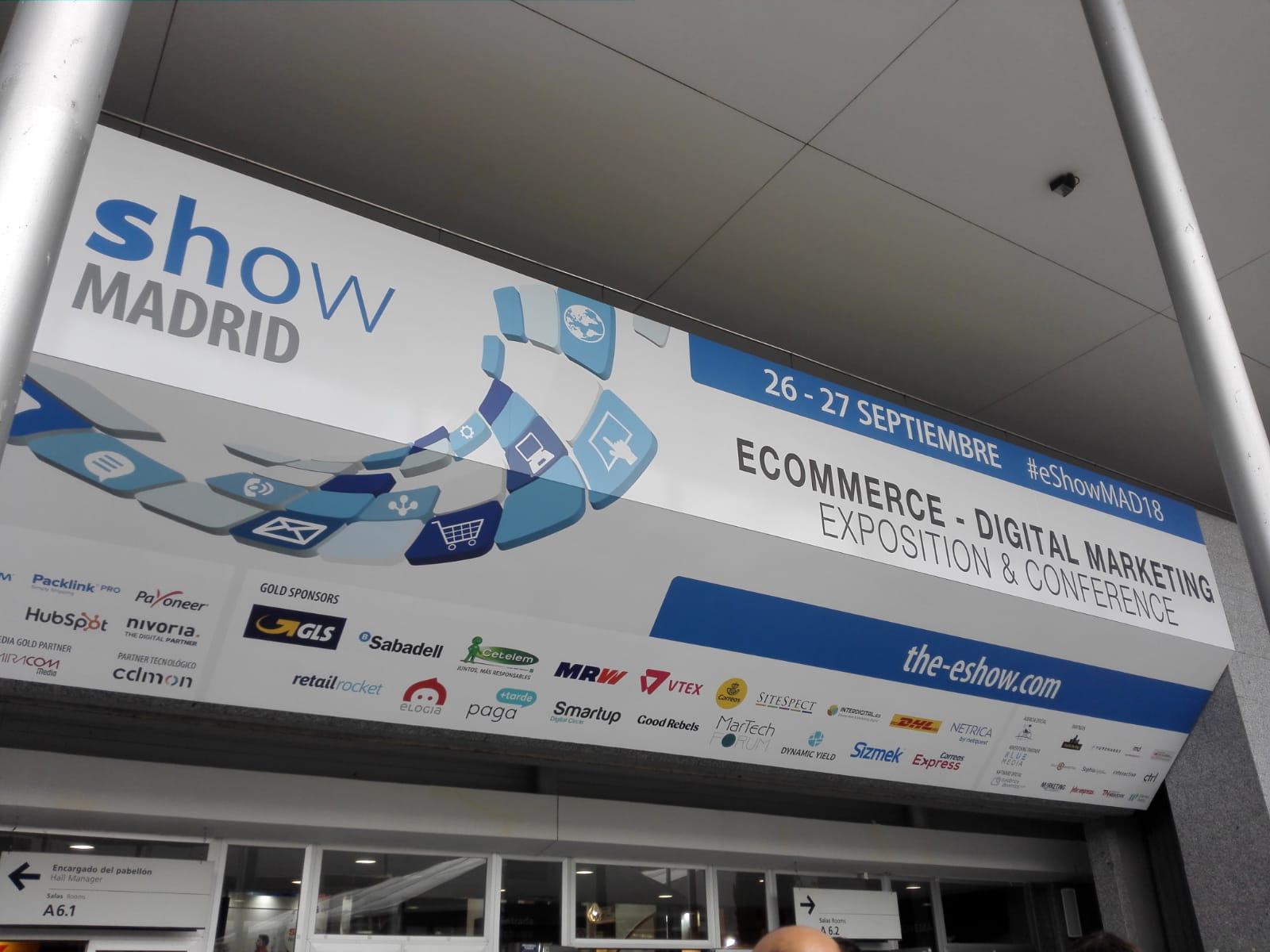 Intensas Networks Eshow Madrid 2018 a inteligencia artificial tambien en Ecommerce