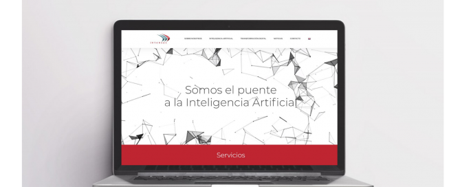 Intensas nueva web -Inteligencia arrtificial