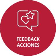 feedback acciones