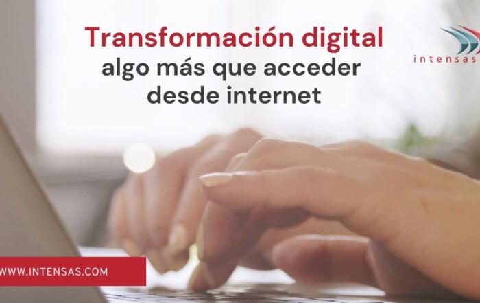 Intensas Transformación digital navarra