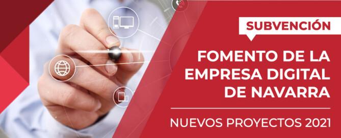 Intensas subvención fomento empresa digital navarra 2021